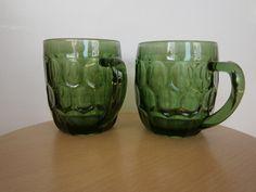 "Saara Hopea - green ""Tuoppi"" pint Finland, Mid-century Modern, Nostalgia, Goodies, Stones, Mid Century, Glass, Green, Nature"