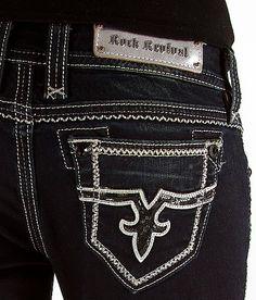 Rock revival Jeans women and Love rocks on Pinterest