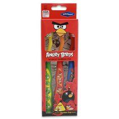 3pk Angry Birds Suction Cup Toothbrush: Home & Kitchen $4.75 Click here to buy! http://www.amazon.com/gp/product/B008VU2MQQ/ref=as_li_qf_sp_asin_il_tl?ie=UTF8=1789=9325=B008VU2MQQ=as2=httpthemissfc-20