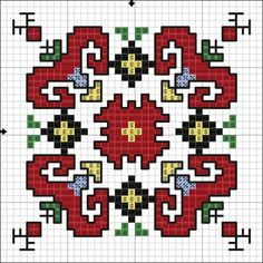 Creative Embroidery, Folk Embroidery, Cross Stitch Embroidery, Embroidery Patterns, Cross Stitch Patterns, Biscornu Cross Stitch, Cross Stitch Rose, Cross Stitch Silhouette, Rainy Day Crafts