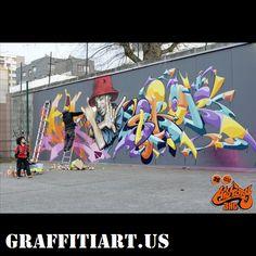#graffiti art Wildstyle, Street Art Graffiti, Tag Art, Urban Art, Tatoos, Art Gallery, Writers, Mad, Painting