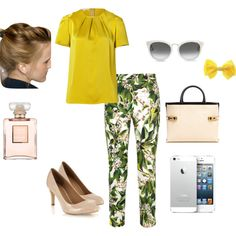 """""""Casual Chic Friday"""" by ymelda on Polyvore"""