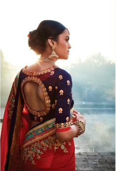 Looking for some creative Blouse Designs to go with your favourite silk saree? Check out these gorgeous blouses and tell me which one of these is your fav? Silk Saree Blouse Designs, Fancy Blouse Designs, Silk Sarees, Indian Blouse Designs, Choli Designs, Latest Saree Trends, Designer Sarees Online, Beautiful Blouses, Indian Designer Wear