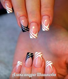 french nails tips Faces French Nails, French Manicure Nails, Diy Nails, Cute Nails, Pretty Nails, Black French Manicure, Glitter Nails, French Nail Designs, Nail Art Designs