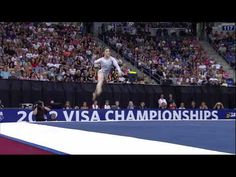 Wow she's good!! - Aly Raisman - Floor - 2012 Visa Championships - Sr Women - Day 2