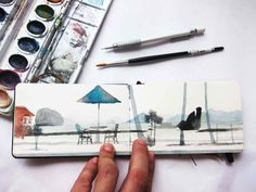 the sketching backpacker