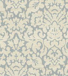 Home Decor Upholstery Fabrics-Waverly Zia Robins Egg Fabric