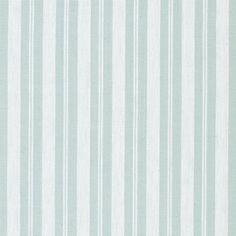 Duck Egg Ticking Stripe Fabric Ex. Wide - A16