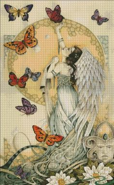Soul Searchers Tryptich Right [RAVENSCROFT3405R] - $19.00 : Heaven And Earth Designs, cross stitch, cross stitch patterns, counted cross stitch, christmas stockings, counted cross stitch chart, counted cross stitch designs, cross stitching, patterns, cross stitch art, cross stitch books, how to cross stitch, cross stitch needlework, cross stitch websites, cross stitch crafts