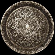 193. Cutch (Kutch) Silver Tray - Plate - Platter