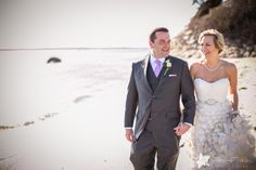 Wedding at the Coonamessett Inn - Falmouth, MA   Zev Fisher Photography A #weddingportrait of the #brideandgroom on the beach #BostonWeddingPhotographers #BostonWeddings #BostonWeddingPhotography #BostonBridal