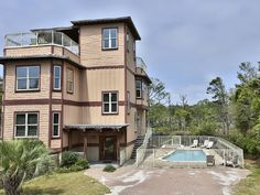 House vacation rental in Blue Mountain Beach from VRBO.com! #vacation #rental #travel #vrbo farther north but pool and nice rates