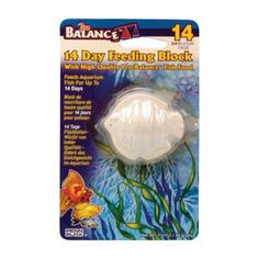 Penn Plax Pro-Balance Fish Shape Vacation Feeding Block - 1 Per Blister Card - PBV15