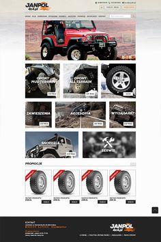 http://www.janpol4x4.pl/ to sklep internetowy z częściami i akcesoriami do aut off-roadowych. Niedawno wykonaliśmy jego nową odsłonę. Pamiętajcie o nim przy następnym zakupie np. snorkela do Isuzu.