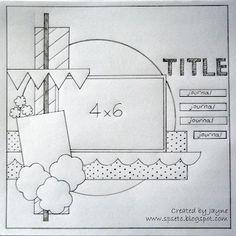 Sketch...single 4X6 photo