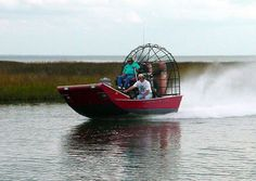 Airboat riding!