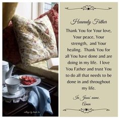 Heavenly Father, Names Of Jesus, Trust Yourself, I Love You, Prayers, Blessed, Healing, Inspirational Quotes, Wisdom
