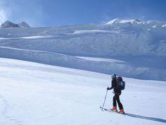 Aufstieg über den Taschachferner Ski Touring, Mount Everest, Skiing, Mountains, Nature, Travel, Winter House, Alps, Travel Destinations