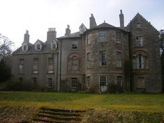 Carmichael Estate Eastend House...Look at all of these...some of the most beautiful abandoned places I've ever seen