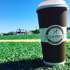 Big coffee for a big afternoon on the soccer fields.  | #soccersaturday #butfirstcoffee #psl @scooterscoffee