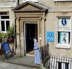 Museo dedicado a Jane Austen en Bath.