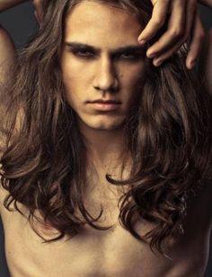 douglas-hickmann male models long hair on We Heart It Beautiful Long Hair, Beautiful Men, Sister Golden Hair, Gay, Man Photography, Long Locks, Pretty Men, Good Looking Men, Haircuts For Men