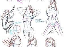 El Arte de Lovely-Lina: Ayuda para dibujar la anatomía femenina
