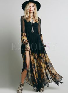 131 Best Bohemian  Maxi Dresses images  d7e1e1be6fc
