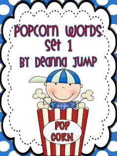 Mrs Jump's class: Popcorn Word Unit Update