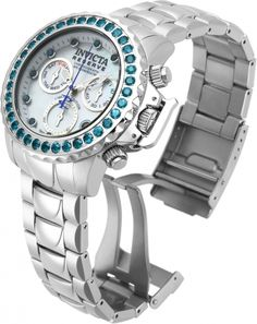 INVICTA Subaqua Men 50mm Stainless Steel Stainless Steel Blue dial Z60 Quartz