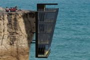 If you woke up to views of the sea - and only the sea, would you be thrilled or terrified? Well the 'Cliff House' would offer its dwellers just that - sea views for as far as the eye can see, there's just one problem...