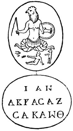 Abraxas : interesting article on Wikipedia, the free encyclopedia.