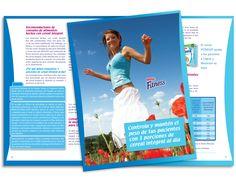 Diseño publicitario/editorial - Stop Diseño Gráfico - Diseño de Dossier Fitness 2 - Cereal Partners Worldwide - Nestlé México.