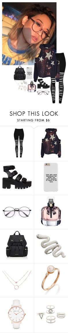 """Ootd { Maya }"" by xxthepandaanonxx ❤ liked on Polyvore featuring Windsor Smith, Burberry, Abbott Lyon and Charlotte Russe"