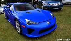 Blue Lexus LFA