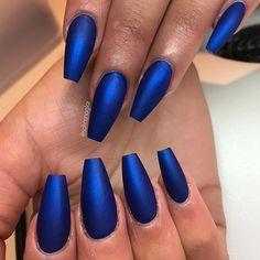 """Electric Blue"" i matt"