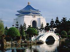 Chiang Kaishek Memorial Hall, Taipei, Taiwan
