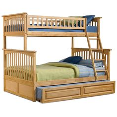 Columbia Twin over Full Bunk Bed - Twin over Full Bunk Beds at Simply Bunk Beds