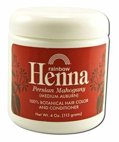 Henna (Persian) - Medium Auburn, Mahogany, 4 oz ( Multi-Pack) >>> To view further for this item, visit the image link. Buy Henna, Henna Hair Color, Auburn, Coffee Cans, Candle Jars, Persian, Hair Care, Conditioner, Hair Care Tips