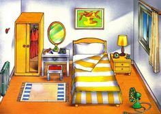 VOCABULARIO Láminas temáticas de expresión oral: el dormitorio https://picasaweb.google.com/MaestrosAyL/LAMINASTEMATICASEXPRESIONORAL