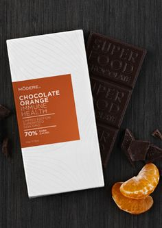 Chocolate Orange Immune Health delivers the taste of gourmet chocolate, with some added benefits, including WellImmune.