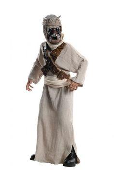 Disfraz de Morador de las arenas Star Wars deluxe para niño
