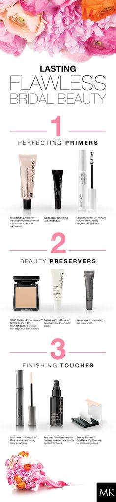 Wedding season! Get Lasting Bridal Beauty! Makeup that will last all day http://www.marykay.com/lisabarber68 Call or text 386-303-2400 or 832-823-1123