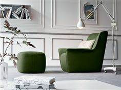DONDOLO Leather Armchair By Rossi Di Albizzate Design PIO | FFE  Seatings  (F) | Pinterest | Armchairs