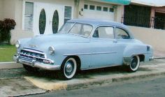 '52 Chevy I had a 51 same color and same style , my first car in 1960