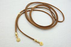 Halsbänder & Choker - Wickelknoten No 5 - Choker mit Münzanhängern - ein Designerstück von ladanika bei DaWanda