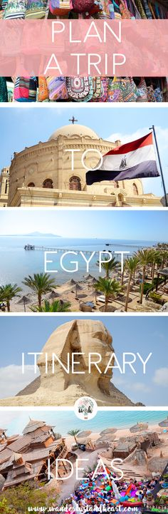 How to plan your trip to Egypt iteneraries