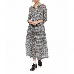Gingham Octavia Dress