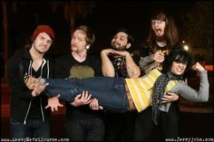 Iwrestledabearonce- I love them too much. I Dont Like You, Take That, My Love, Good Music, My Music, Band Photos, Metal Bands, Music Is Life, Heavy Metal