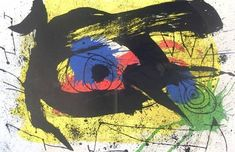 Derriere le Miroir no. 203, pg 4,5 Collectable Print by Joan Miró at Art.com